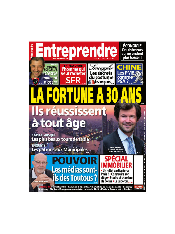Entreprendre - Mars 2014