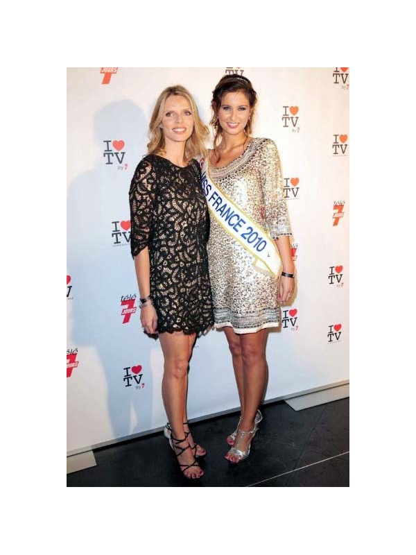Miss France 2010 &amp Sylvie Tellier