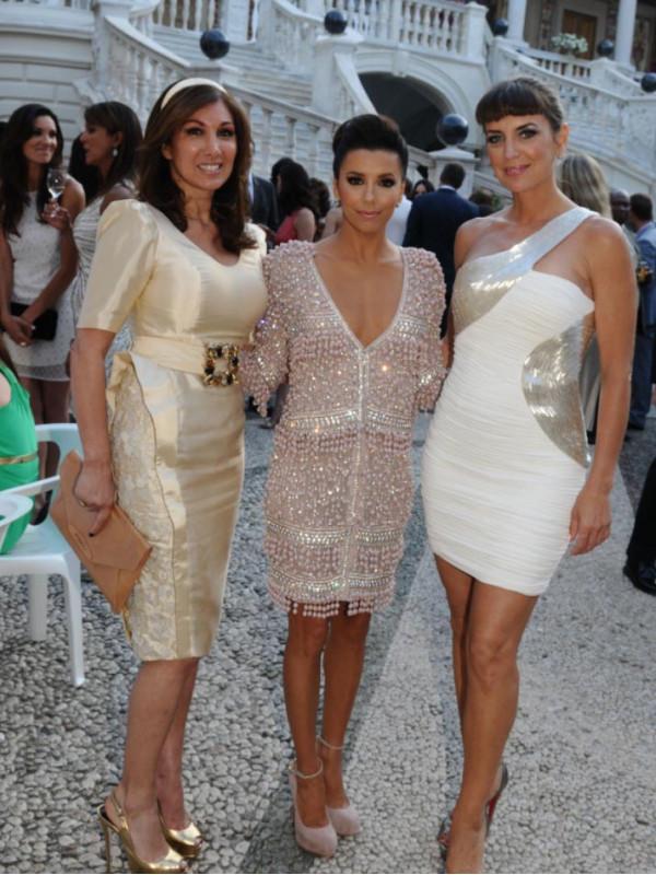 Eva-Longoria, Sandra-Vidal et Chantal Temam