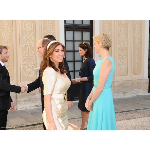 Chantal Temam et la Princesse Charlene