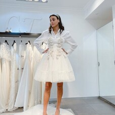Love our bride styled our #Ilona dress ✨⠀⠀⠀⠀⠀⠀⠀⠀⠀ #ChantalTemamBrides⠀⠀⠀⠀⠀⠀⠀⠀⠀⠀⠀⠀⠀⠀⠀⠀⠀⠀⠀⠀⠀⠀⠀⠀⠀⠀⠀⠀⠀⠀⠀⠀⠀⠀⠀ #LaMarieeByChantalTemam⠀⠀⠀⠀⠀⠀⠀⠀⠀⠀⠀⠀⠀⠀⠀⠀⠀⠀⠀⠀⠀⠀