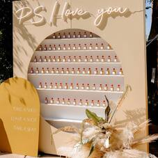 P.S I love you 🤍 via @greenweddingshoes ⠀⠀⠀⠀⠀⠀⠀⠀⠀ photograph @carmenlopezphoto venue @theinglesideinn  planning: @thewalkdowntheaisle  design + florals @luna_design_studios