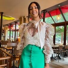 Love the match of our #Almy top with a green skirt 💚@marynregazza⠀⠀⠀⠀⠀⠀⠀⠀⠀⠀⠀⠀⠀⠀⠀⠀⠀⠀ #ChantalTemamCollection ⠀⠀⠀⠀⠀⠀⠀⠀⠀⠀⠀⠀⠀⠀⠀⠀⠀⠀⠀⠀⠀⠀⠀⠀⠀⠀⠀ __________________⠀⠀⠀⠀⠀⠀⠀⠀⠀⠀⠀⠀⠀⠀⠀⠀⠀⠀⠀⠀⠀⠀⠀⠀⠀⠀⠀ #beautiful#woman#fitting#details#jumpsuit#combinaison#robe#robesurmesure#marieesurmesure#bespoke#dress#bridal#weddingdress#eveninggown#eveningdress#fashiondress#fashion#fashionista#fashiondesigner#chantaltemamcollection#chantaltemam#paris#france