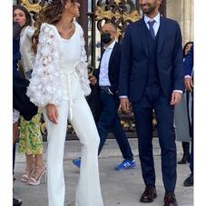 One of our favorite outfit #Iziah top + #Lizy  pants on our stunning bride @alexmrkkk 🤍⠀⠀⠀⠀⠀⠀⠀⠀⠀⠀⠀ #ChantalTemamBrides⠀⠀⠀⠀⠀⠀⠀⠀⠀⠀⠀⠀⠀⠀⠀⠀⠀⠀⠀⠀⠀⠀⠀⠀⠀⠀⠀ #LaMarieeByChantalTemam⠀⠀⠀⠀⠀⠀⠀⠀⠀⠀⠀⠀⠀⠀⠀⠀⠀⠀⠀⠀⠀⠀⠀⠀⠀⠀⠀⠀⠀⠀⠀⠀⠀⠀⠀⠀⠀⠀⠀⠀⠀⠀⠀⠀⠀ ⠀⠀⠀⠀⠀⠀⠀⠀⠀⠀⠀⠀⠀⠀⠀⠀⠀⠀⠀⠀⠀⠀⠀⠀⠀⠀⠀⠀⠀⠀⠀⠀⠀⠀⠀⠀⠀⠀⠀⠀⠀⠀⠀⠀⠀ ⠀⠀⠀⠀⠀⠀⠀⠀⠀⠀⠀⠀⠀⠀⠀⠀⠀⠀⠀⠀⠀⠀⠀⠀⠀⠀⠀⠀⠀⠀⠀⠀⠀⠀⠀⠀⠀⠀⠀⠀⠀⠀⠀⠀⠀⠀⠀⠀⠀⠀⠀⠀⠀⠀ __________________⠀⠀⠀⠀⠀⠀⠀⠀⠀⠀⠀⠀⠀⠀⠀⠀⠀⠀⠀⠀⠀⠀⠀⠀⠀⠀⠀⠀⠀⠀⠀⠀⠀⠀⠀⠀⠀⠀⠀⠀⠀⠀⠀⠀⠀⠀⠀⠀⠀⠀⠀⠀⠀⠀ #bride#weddingday#realbride#lovers#bridal#dress#bridal#mariee#mairie#surmesure#madeinfrance#weddingdress#eveninggown#eveningdress#fashiondress#fashion#fashionista#fashiondesigner#lamarieebychantaltemam#chantaltemam#madeinfrance#paris#france